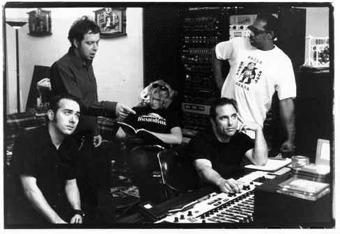 Mick Collins (Dirtbombs, Gories, Black Top) wearing Exile Osaka T-shirt